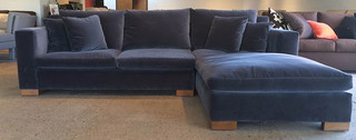 CLEARANCE SALE Transitional Sectional Sofas los angeles by Monarch Sofas