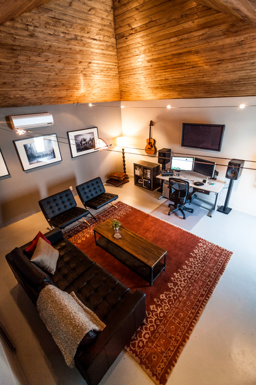 Very best Garage studio conversion BEFORE AND AFTER! XP89