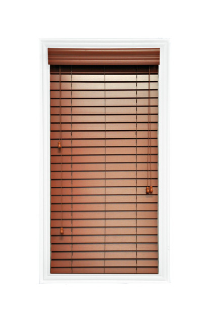 2 Quot Faux Wood Inside Mount Horizontal Window Blinds Cherry