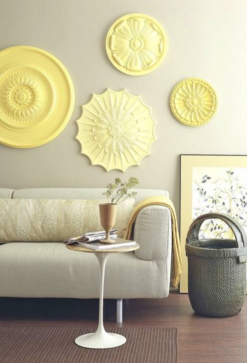 rosettes  living room