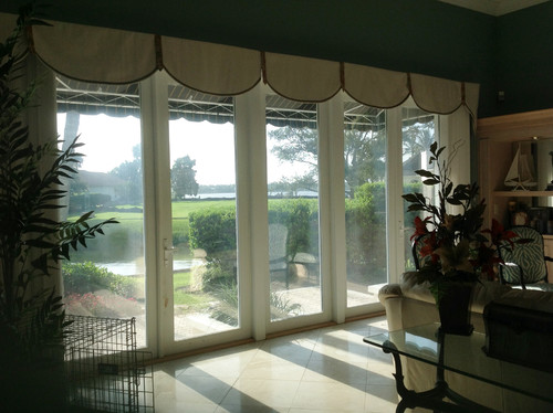Window Treatments For Doors Full Length Windows
