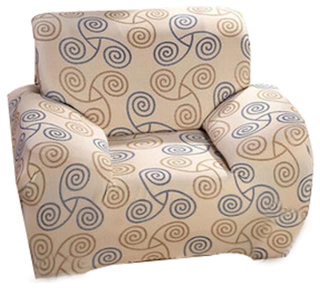 Modern Stretch Sofa Slipcover Non-Slip, Multicolor B - Contemporary ...