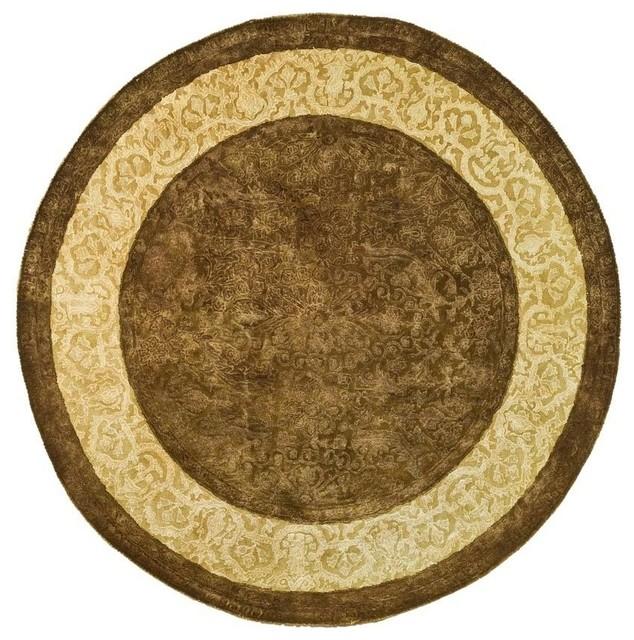 World Map Rug Costco: Safavieh Silk Road SKR211A Chocolate Rug