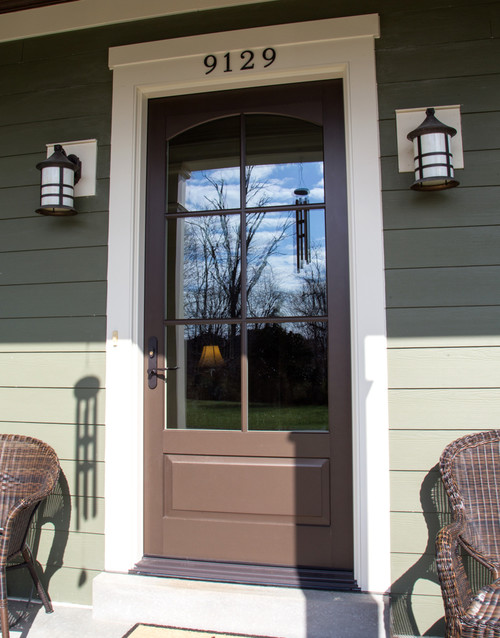 ... door. Marvin\u0027s aluminum extruded cladding features a high performance coating that is so strong it has a 20 year warranty against chalking or fading. & Before and After: Door Fail
