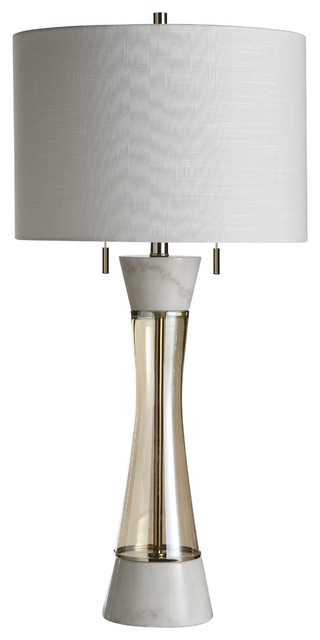 Metal Base Table Lamp Twin Pull Chains, Twin Pull Chain Table Lamp