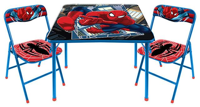 set de table spiderman