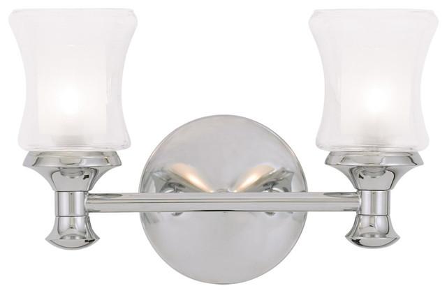 Transitional Bathroom Vanity Lights : Randolph Bath Light - Transitional - Bathroom Vanity Lighting - by Livex Lighting Inc.
