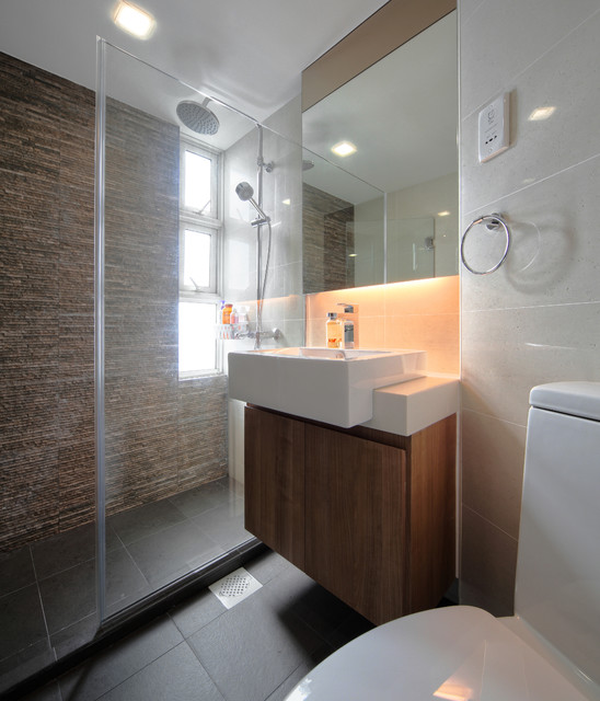 Pandan Valley Condo Contemporary Bathroom Singapore