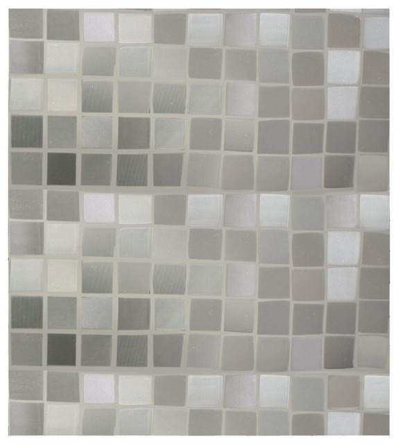 Cut Glass Mosaic Static Cling Window Film Contemporary Window