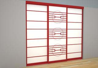Claustra cloison japonais for Quincaillerie meuble japonais