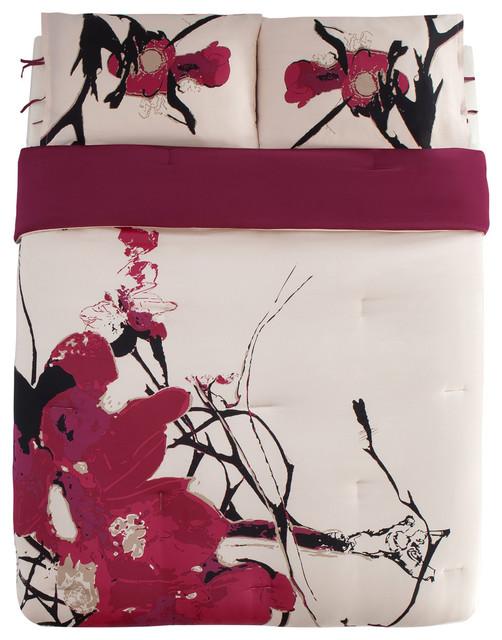 kensie blossom comforter queen