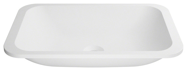 Natura Undermount Composite Sink With Matte Finish & Nano Coating, White.