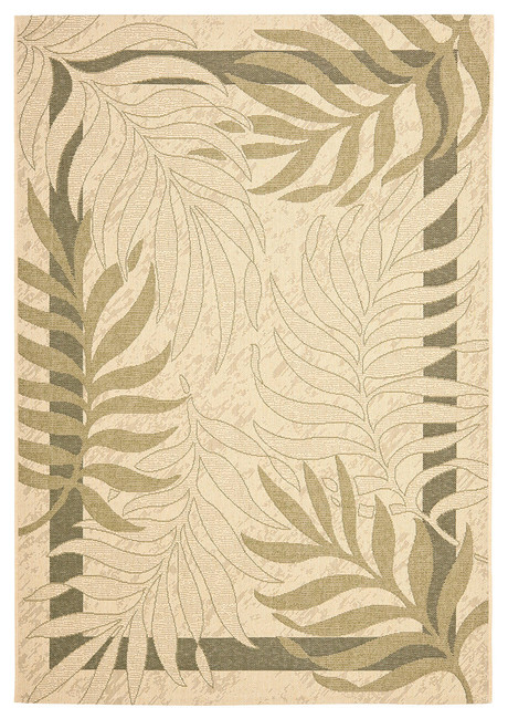 Area Rug Green Tropical Outdoor Rugs By Buyarearugs