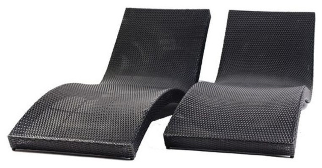 Outdoor U0027Waveu0027 Lounge Modani Pair   $2,276 Est. Retail   $680 On  Chairish.com