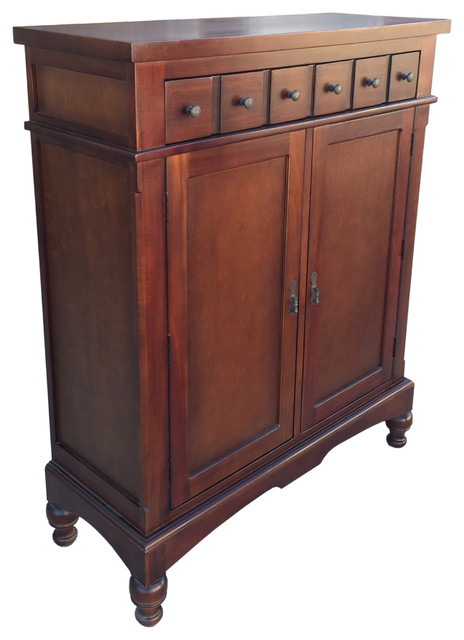 Colonial Apothecary Storage Cabinet