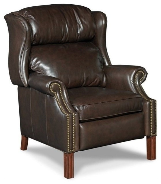Beaumont Lane Leather Recliner Chair Sicilian Cipriani Transitional Chairs By Homesquare