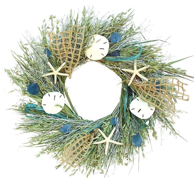 Sea Glass Wreath, Small
