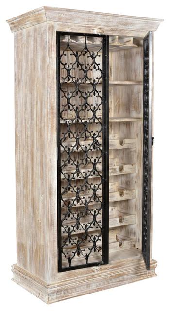Cool Evan Iron Door Wine Cabinet Home Interior And Landscaping Transignezvosmurscom