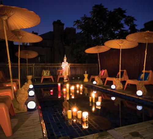 Exotic Pool Decoration