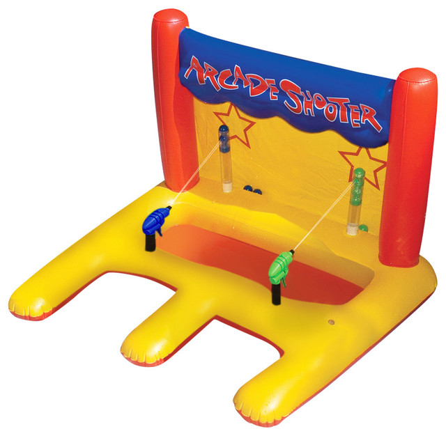 International Leisure Products - Dual Arcade Shooter Inflatable Pool Toy & Reviews | Houzz
