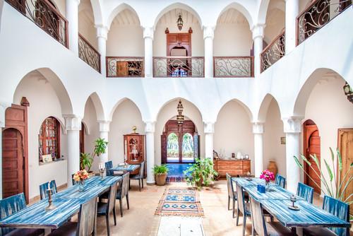 Wohntrend: Lassen Sie sich vom Riad-Style aus Marokko ...