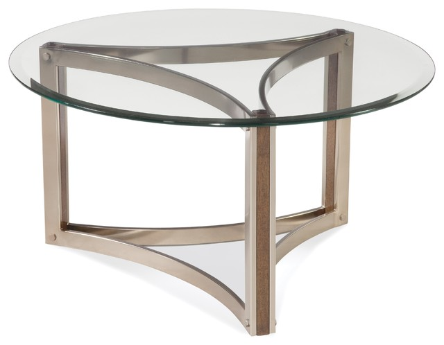 Cornell Round Cocktail Table Contemporary Coffee Tables