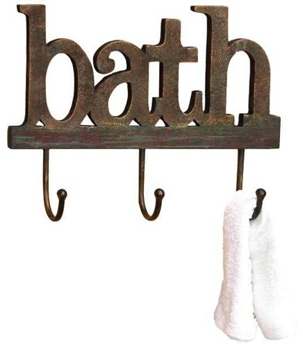 Wood Bath Wall Hooks 99764 Traditional Robe And Towel Hooks