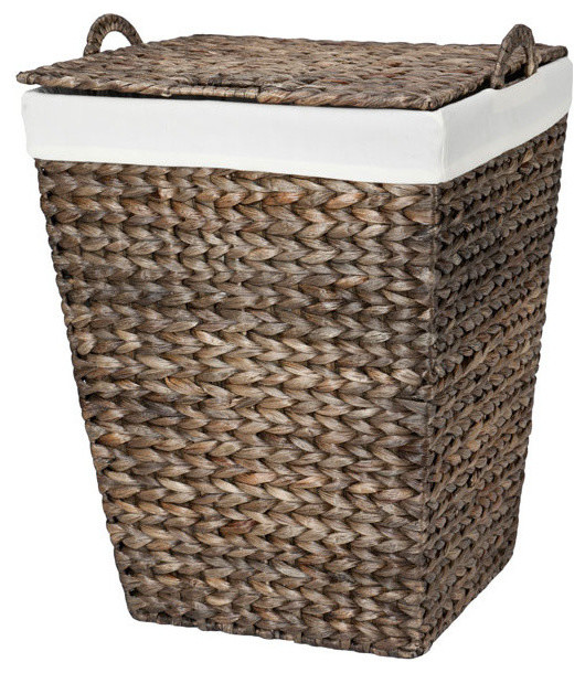 Water Hyacinth Clothes Hamper.
