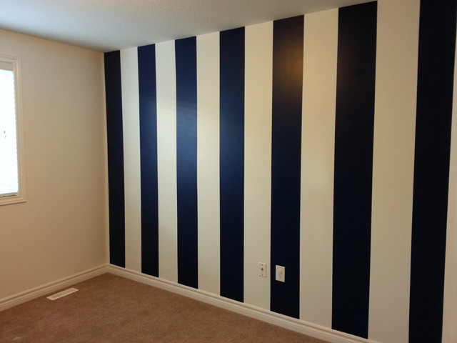 How To Paint Vertical Stripes Modern Toronto By