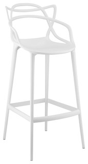 Entangled Bar Stool, White