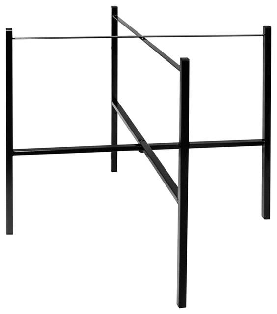 Black Single Tray Stand