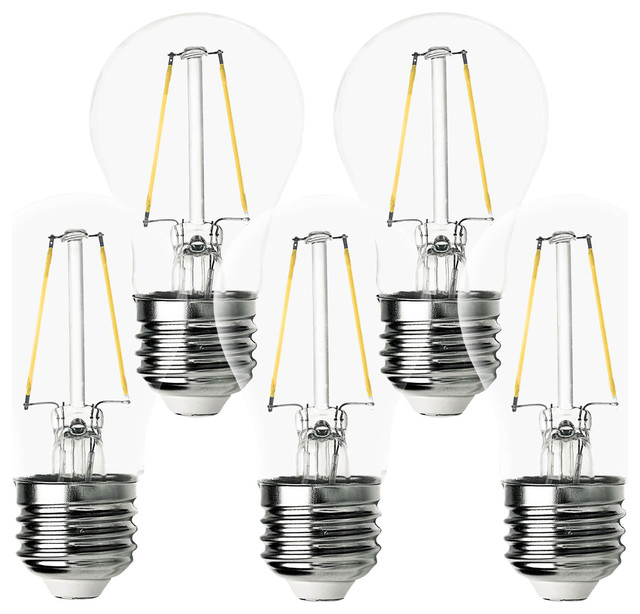 led filament bulbs set of 5 - A15 Bulb