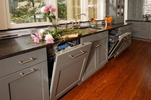 Kitchen Remodel Gray Cabinets gray kitchen remodel - contemporary - kitchen - minneapolis -