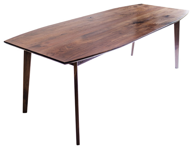 Modercre8ve The Santa Monica Solid Black Walnut Dining  : midcentury dining tables from www.houzz.com size 640 x 494 jpeg 37kB