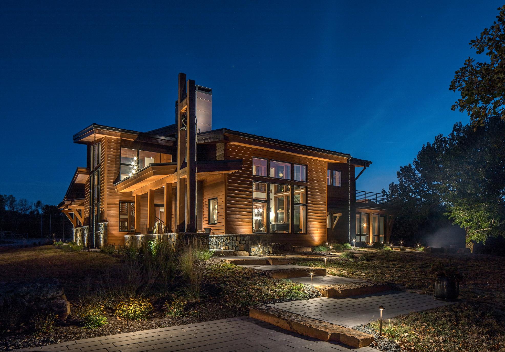Architectural Landscape Lighting Elkhorn, Nebraska