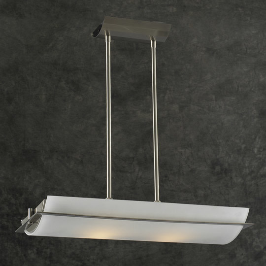PLC Lighting PLC 21068 Island / Billiard Fixture from the Enzo Collection