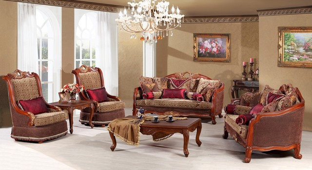 Mont Claire Luxury Living Room Sofa Set