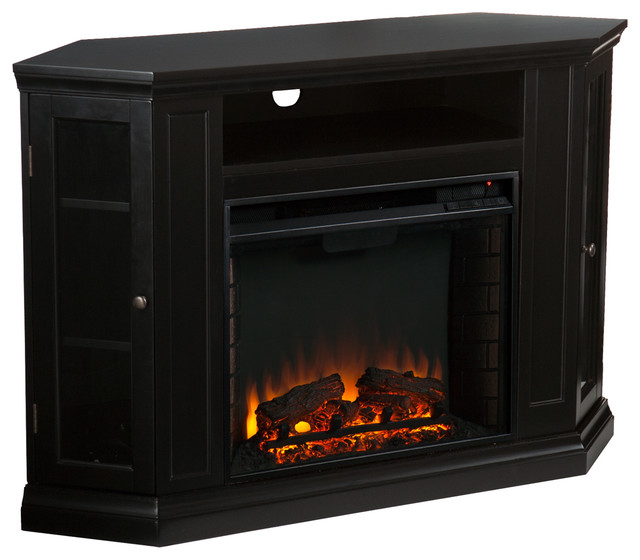 lincoln convertible media electric fireplace indoor