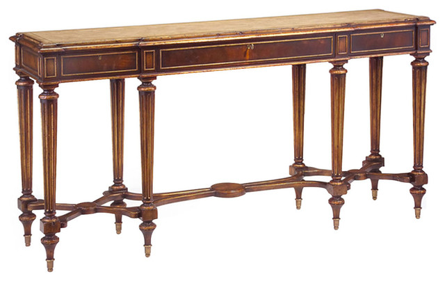 John Richard Marble Top Console EUR 02 0034 Traditional Console Tables