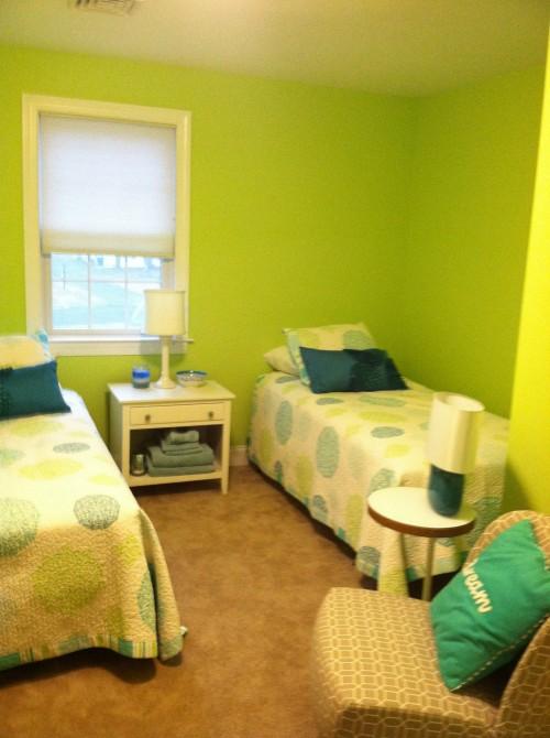. Guest room paint color