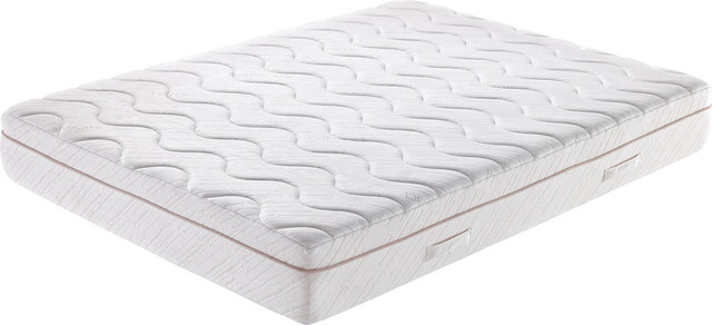 "11"" Queen Mattress With Gel, Off White"