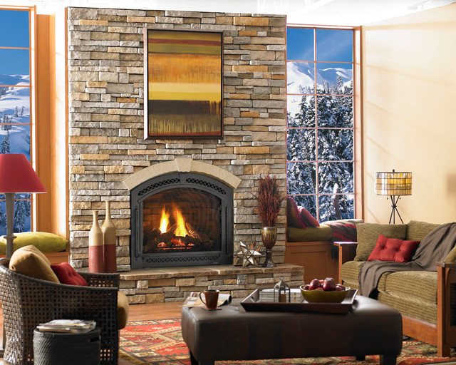 Heat Glo Traditional Style Direct Vent Fireplaces