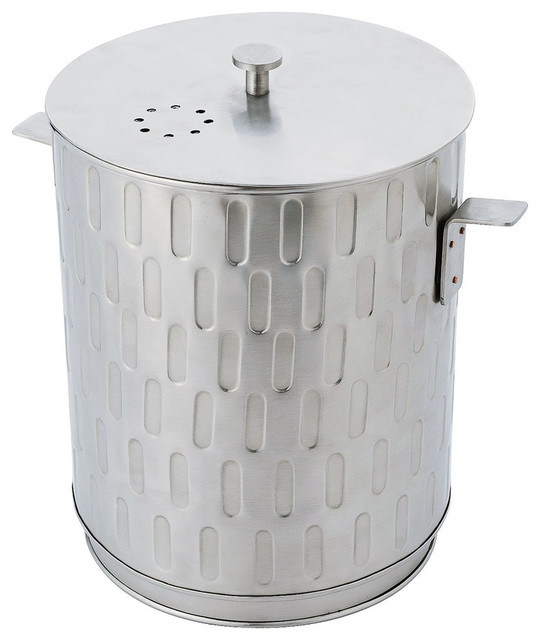 Achla designs kitchen compost pail trash cans houzz for Achla designs cp 03 kitchen compost pail
