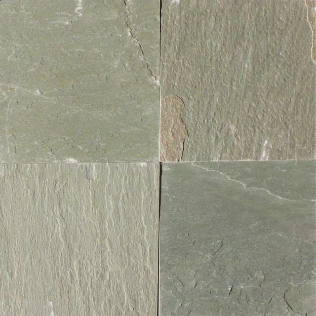 Mystique Green, Gauged Green, 12x12, Slate Tile, 20 Sqft.