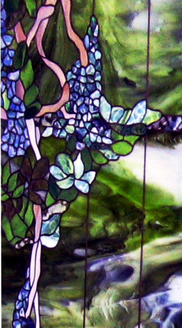 Stained Glass partition wall panel