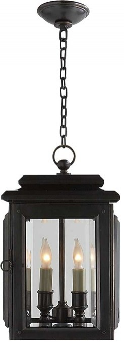 Medium Kensington Hanging Lantern traditional outdoor lighting