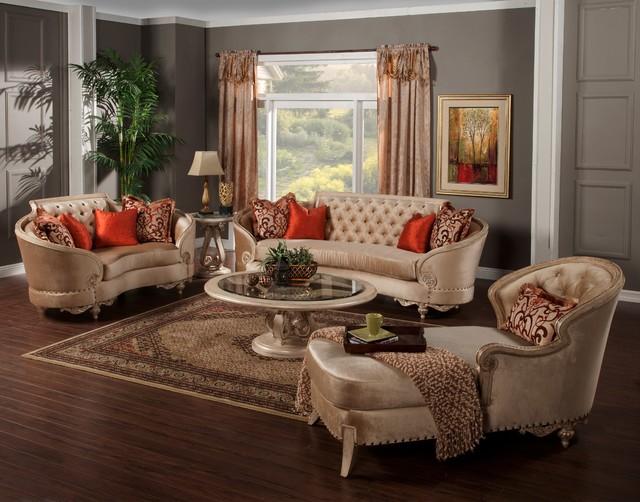 the rosabella room - traditional - living room - miami -el