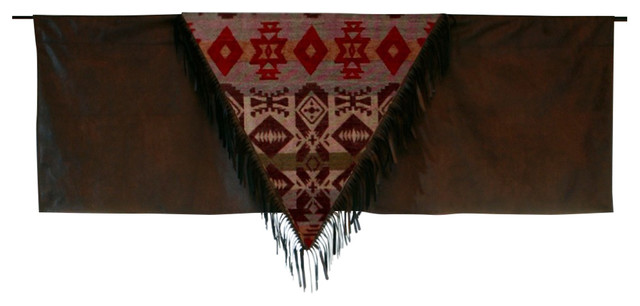 Montana Western Rustic Valance.