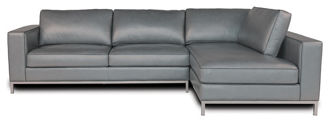 Manhattan Loft Handmade Leather Sectional Sofa