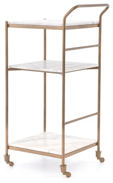 HELENA  BAR CART-SMALL by Sovo Furniture